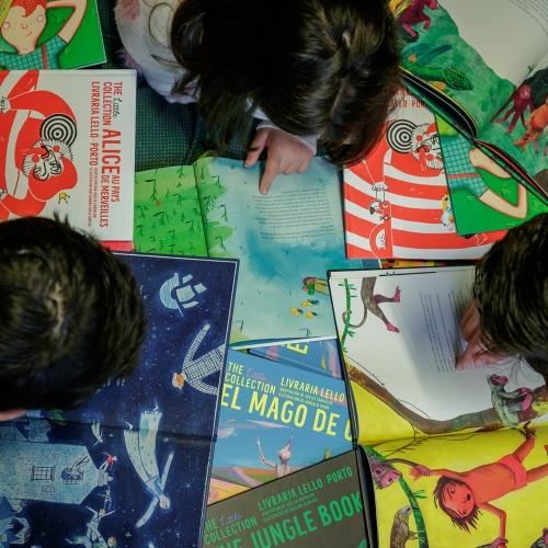 Livraria lello lança colecção infantil