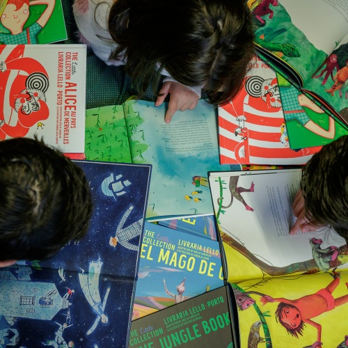 Livraria lello launches children's collection